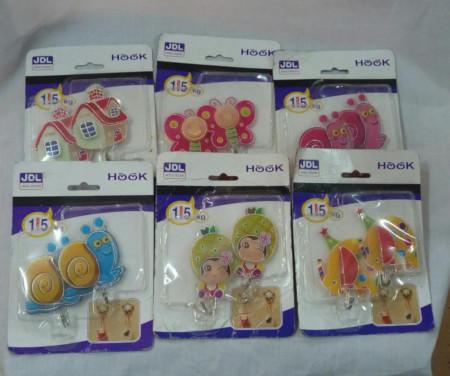 Hook Stickers 3D