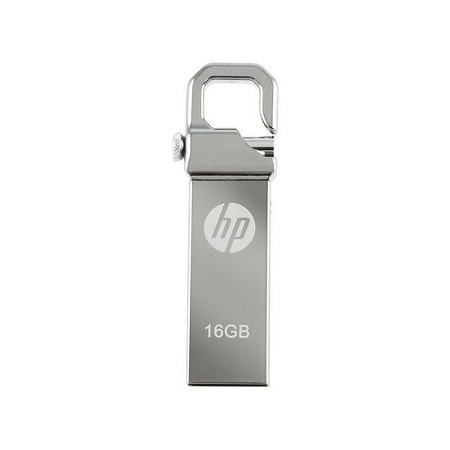 HP Flash Disk - V250w- 16GB -Compact Metalic - USB 2.0 - Silver