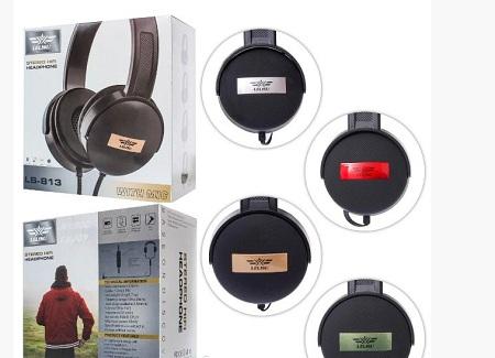Lelisu Stereo Hifi Headphones LS-813