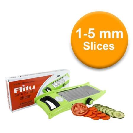 Kitchen Vegetable & Fruit Auto Rotate Slicer