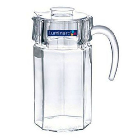 Luminarc Octime Jug/Pitcher Glass with Lid