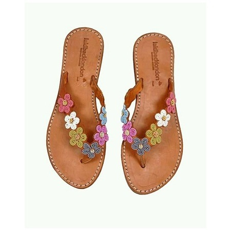 Fashion Brown Ladies Maasai Sandals