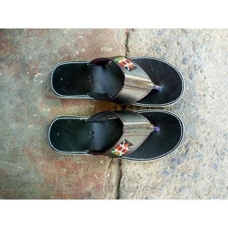 Fashion Black Maasai Sandals