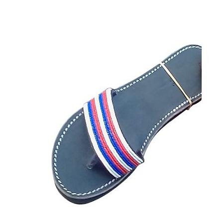 Fashion Ladies Beaded Maasai Sandals - Black