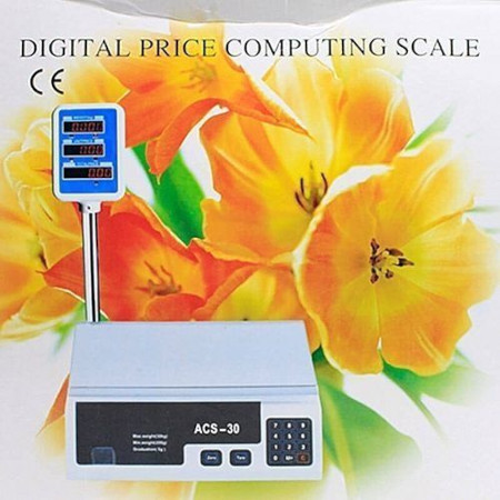 30kg Scale and computing machine