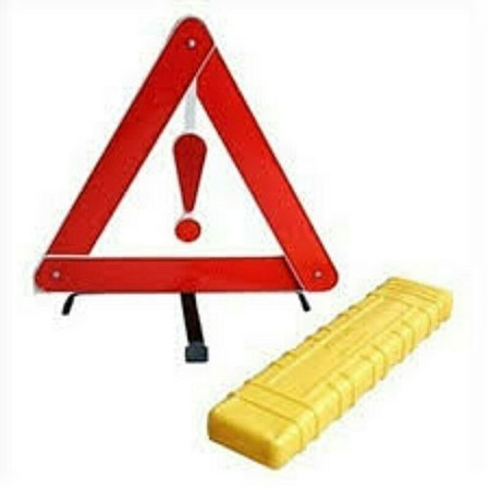 Emergency Warning Triangle - Red