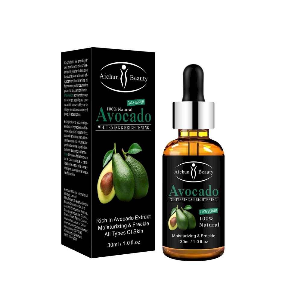 Aichun beauty 100% Natural Essence Avocado Anti Aging Eye and Face Serum Moisturizing Essential oil COLOURLESS
