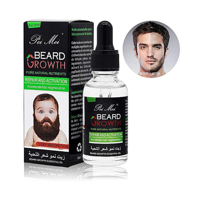 Pei Mei Beard Growth Oil for Men - 30 ml