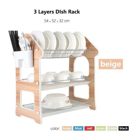 Generic Dish Rack 3 Tier