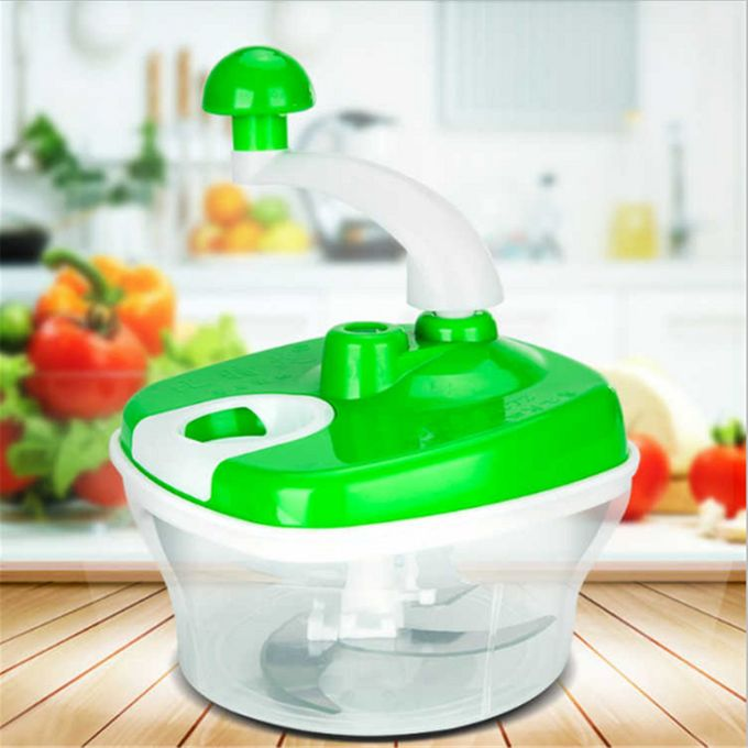 Generic Kitchen Tools Multifunction Food Chopper Garlic Cutter Vegetable Slicer Speedy Chopper Tools Manual Meat Grinder Shredder