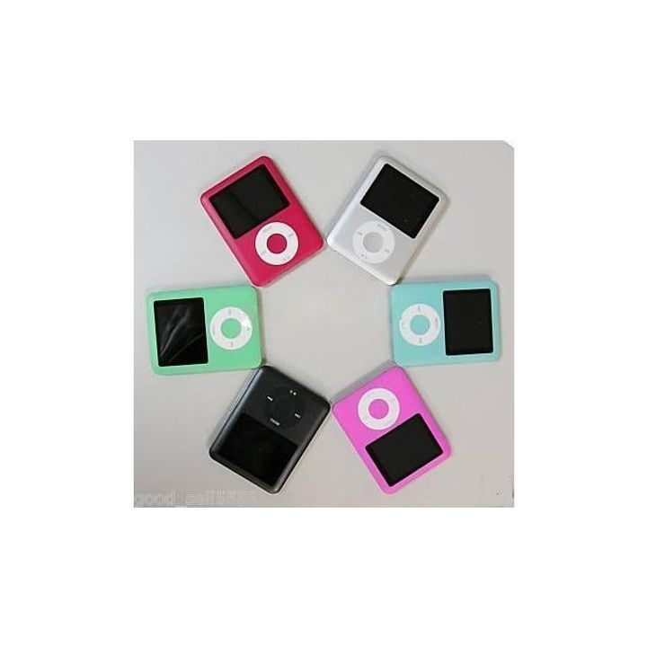 Generic Mp3 Music Player Maroon