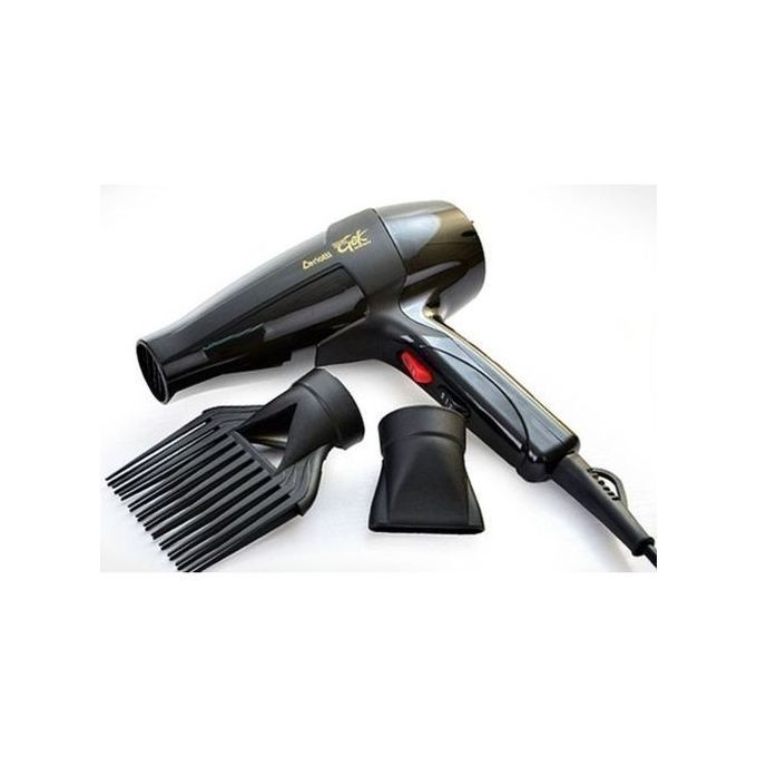 Ceriotti Hair Straightener And Blowdry - Black