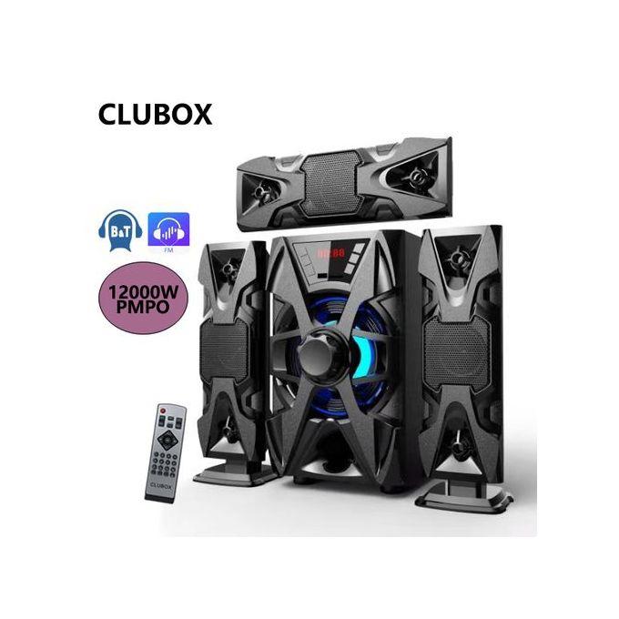 Clubox IC-1303 3.1 X-Base HI-FI Bluetooth Speaker - Black