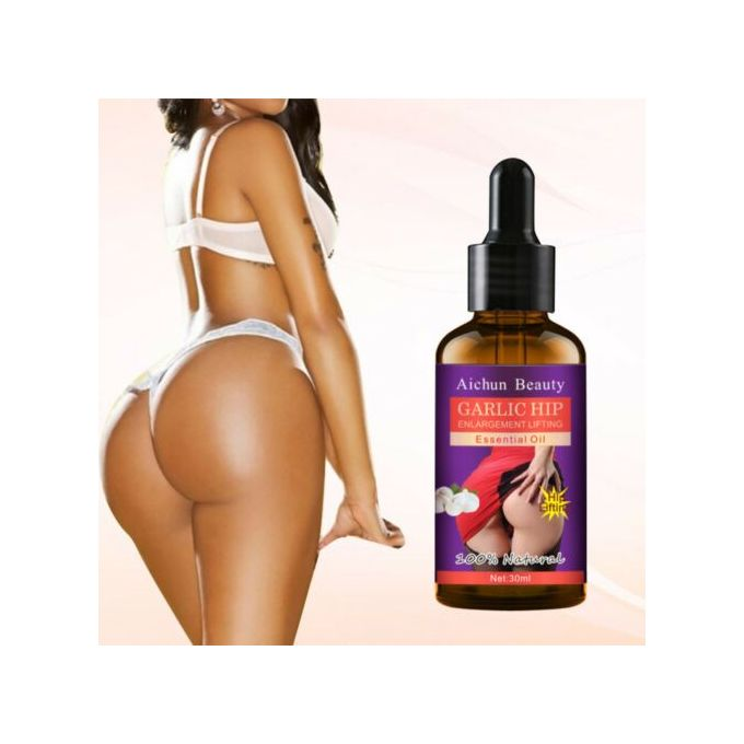 Aichun Beauty Garlic Hip Enlargement Lifting Esential Oil 3 DAYS EFFECTIVE