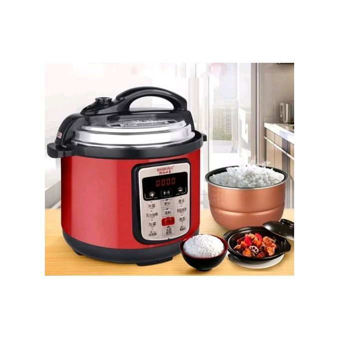 Nunix ELECTRIC PRESSURE COOKER AND RICE COOKER