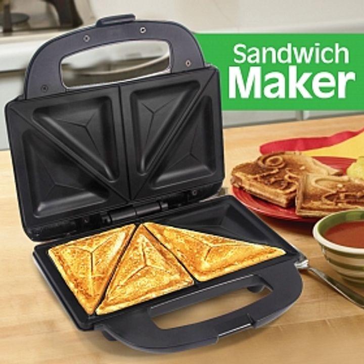 2 Slice Sandwich Maker/Toaster/Grill Black
