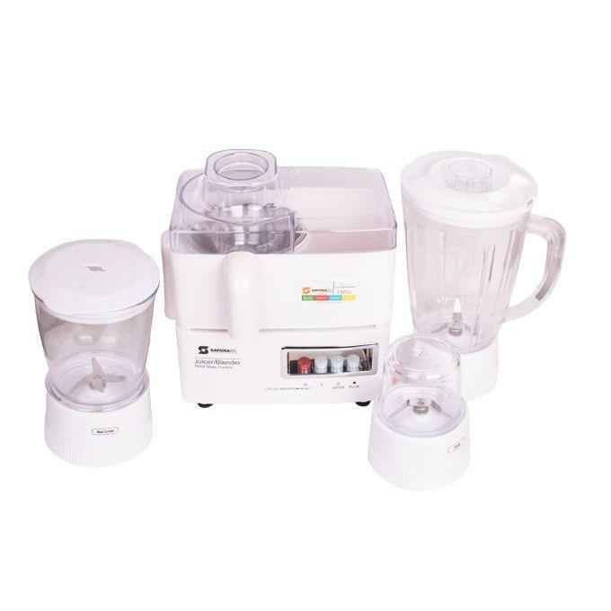 Sayona NL SB-3555 - 4-In-1 Blender/Juicer/Mincer and Grinder - 400W,