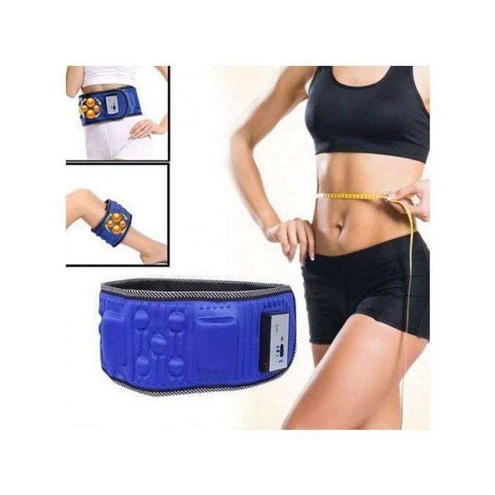 Generic Slimming Belt X5 Times Electric Vibration Massage Machine Lose Weight Burning Fat