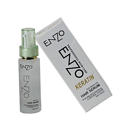 Enzo PROFFESSIONAL KERATIN HAIR SERUM FOR WEAVES & ALL HAIR TYPES