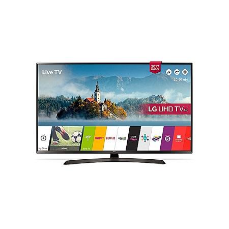 LG 43UJ634- 43 INCH Smart UHD 4K LED TV - Black.