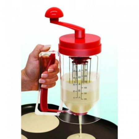 Pancake Batter Dispenser Machine with Manual Mixer