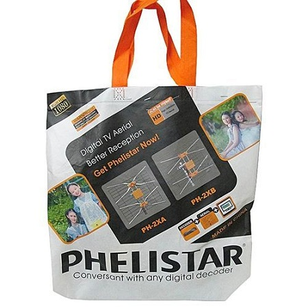 Phelistar Digital TV Aerial +10M Cable - Multicolor