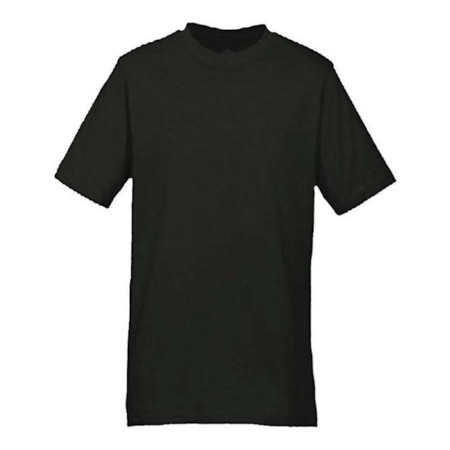 Plain T-shirts Black Small