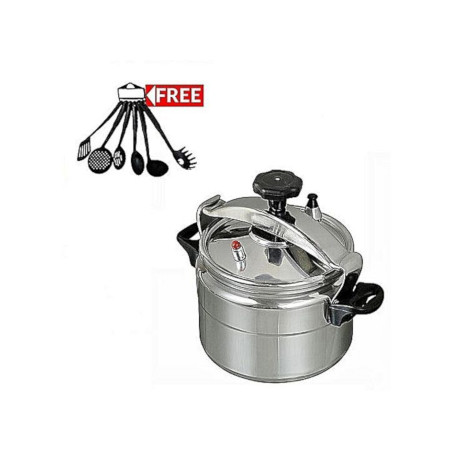Pressure Cooker - Explosion Proof + a Set of 6 /Serving Spoons