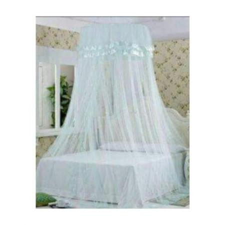 Round Mosquito Net white
