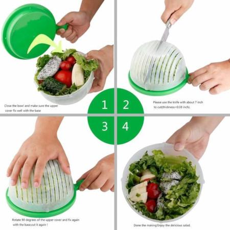 Vegetable Fruit Salad Cutter Bowl Maker