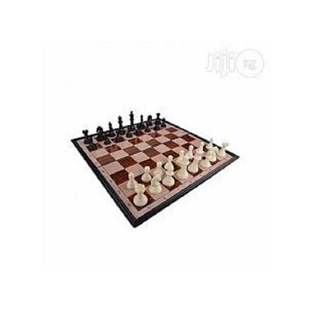 Foldable Chess Board Game Magnetic Travel Chess Set