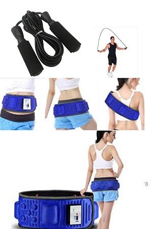 Slimming Belt plus free Skipping Rope
