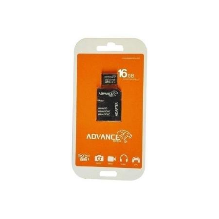 Advance Memory Card -16GB Black
