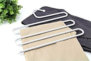 Generic S Type 5-layer Stainless Steel Trouser Hanger