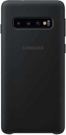 Samsung Galaxy S10+ Silicone Case, Black