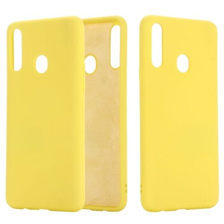 Samsung A20 Silicone Cover Yellow