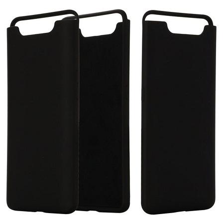 Samsung A80 Silicone cover Black
