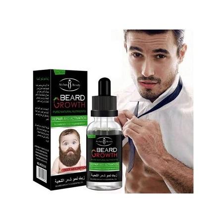 Beard Growth & Moustache Fast Growth Oil clear