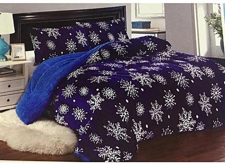Beautiful woolen Duvet Purple 5*6