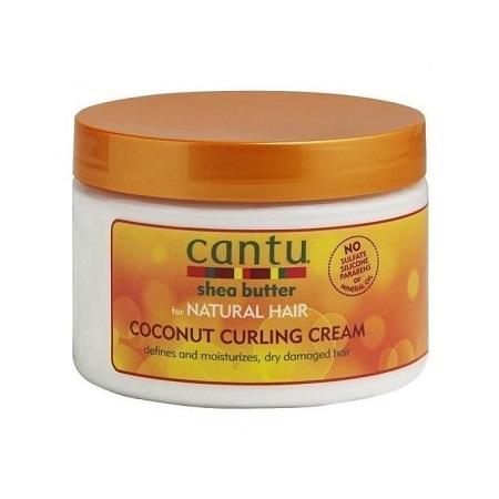 Cantu Shea Butter Coconut Curling Cream White 340g