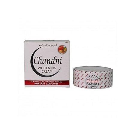 Chandni Whitening Cream; Acne, Dark Spots, Wrinkles Solution white