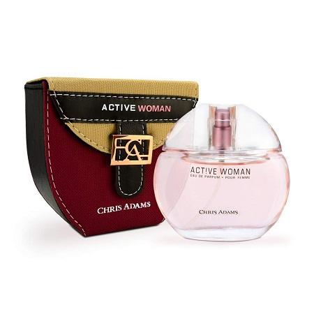 CHRIS ADAMS Active Woman EDP - 80 ml