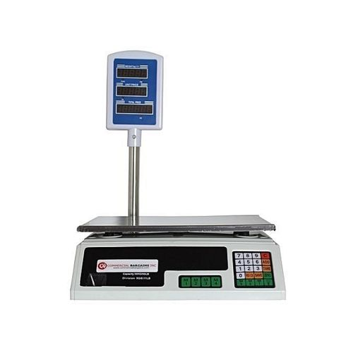 Commercial Weighing Scale silver