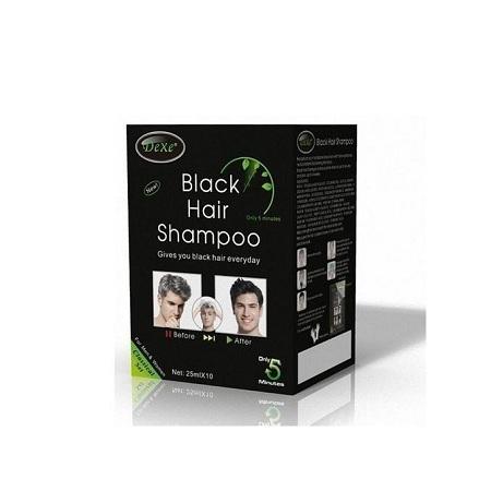Dexe Hair Dye Shampoo black 10packs
