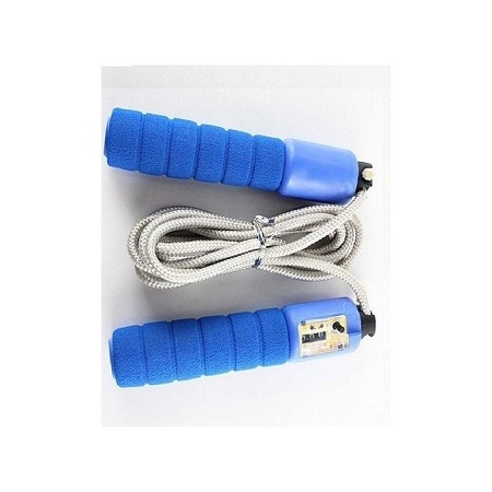Digital Skipping Rope (With Jumps Counter) Blue Standard