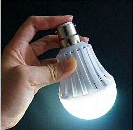 Energy Saving LED Intelligence Emergency Bulb white normal 5W