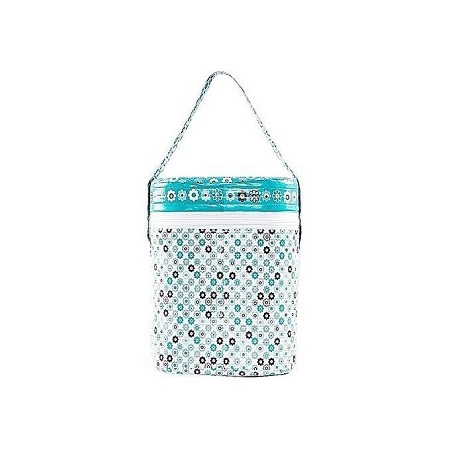Bottle Warmer With A Pair Of Feeding Bottles( Blue Theme/Multicolor)