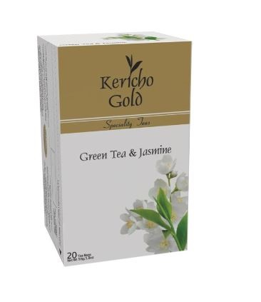 Kericho Gold Green Tea & Jasmine 20's