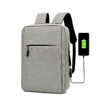 Fashion Laptop Bag USB Back Pack Antitheft Bag