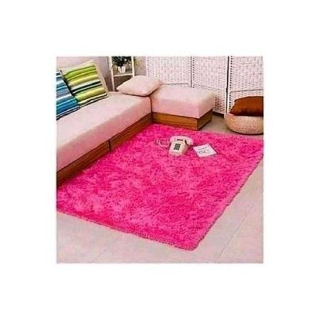 Fluffy Carpet pink 5*8